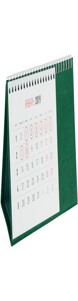 Календарь настольный Brand, зеленый фото