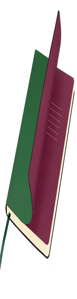 Ежедневник недатированный Portobello Trend, Sky, зеленый (стикер, б/ленты) фото