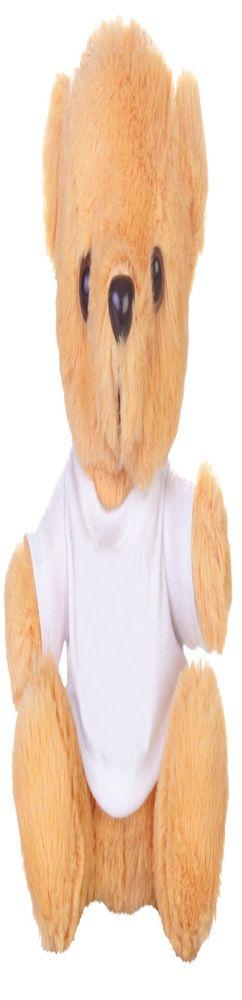 "Игрушка ""Медвежонок Умка в футболке"", бежевый фото"