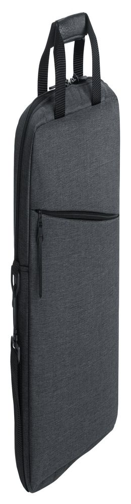 Конференц-сумка Burst, темно-серая фото