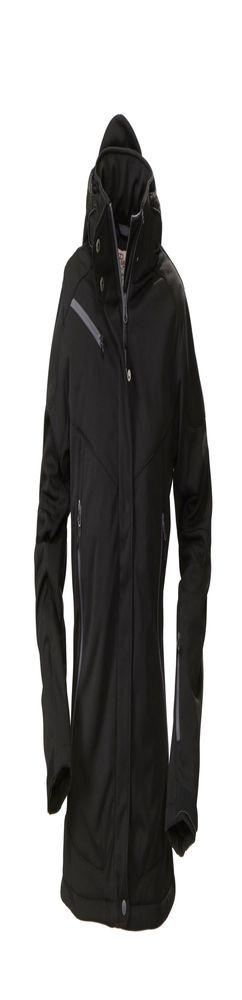 Куртка софтшелл женская Skeleton Lady, черная фото