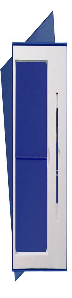 Подарочный набор Portobello/Summer time синий (Ежедневник недат А5, Ручка) беж. ложемент фото