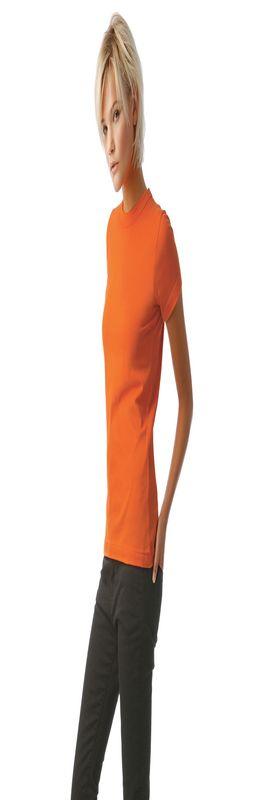 Футболка женская Exact 190, оранжевая, размер XXL фото