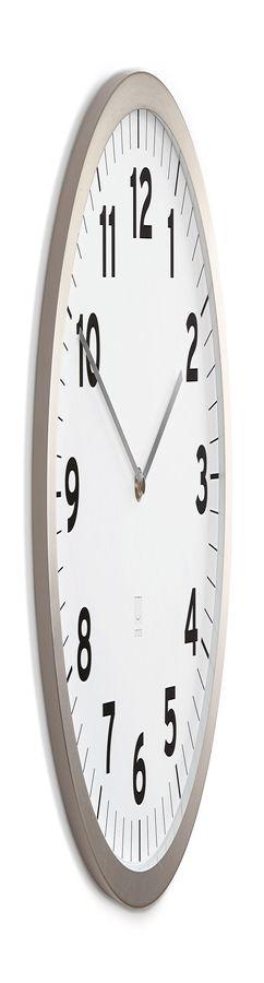 Настенные часы anytime белые фото