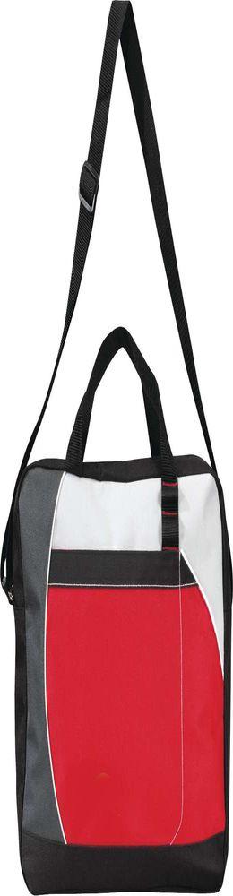 Конференц-сумка Atchison Curve, красная фото