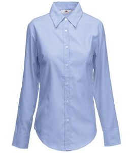 "Рубашка ""Lady-Fit Long Sleeve Oxford Shirt"" фото"