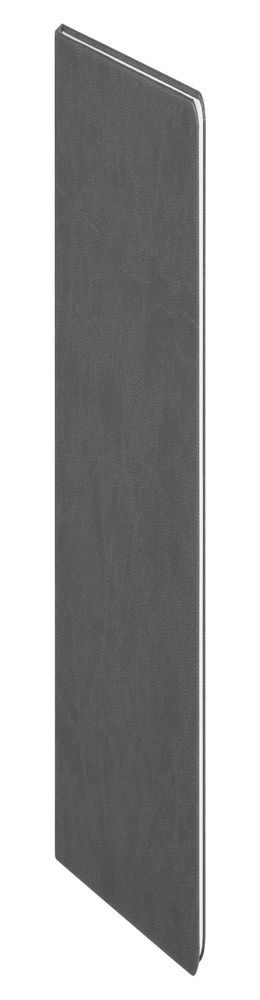 Блокнот Scope, в линейку, серый фото