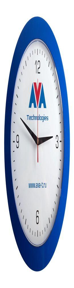 Часы настенные Vivid Large, синие фото