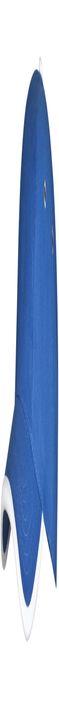 Бейсболка Unit Trendy, ярко-синяя с белым фото