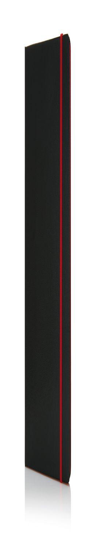 Блокнот на резинке с цветным срезом, А5 фото