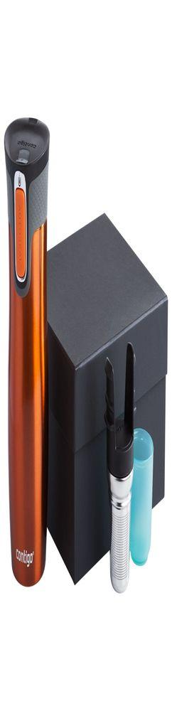 Набор Contigo: термостакан и ситечко, оранжевый фото
