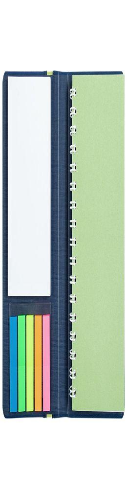 Блокнот Freestick, синий фото