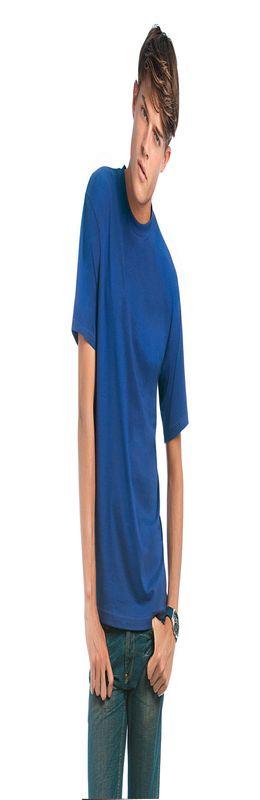 Мужская футболка Exact 190, ярко-синий/royal blue фото