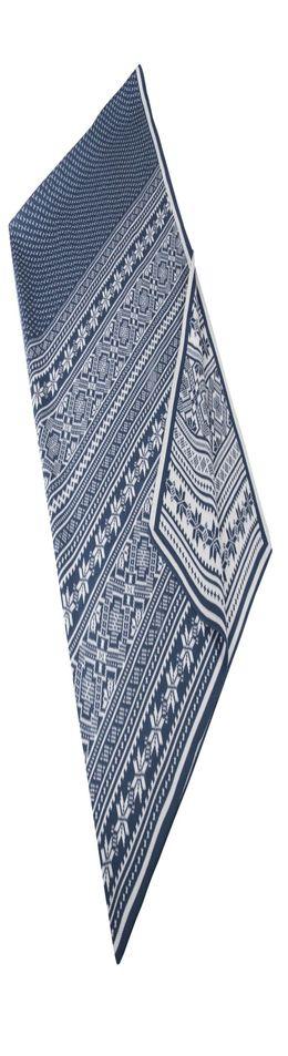 Плед «Скандик», синий фото