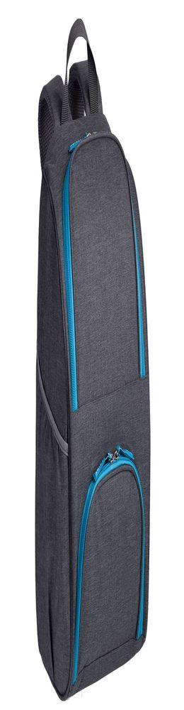 Изотермический рюкзак Liten Fest, серый с синим фото