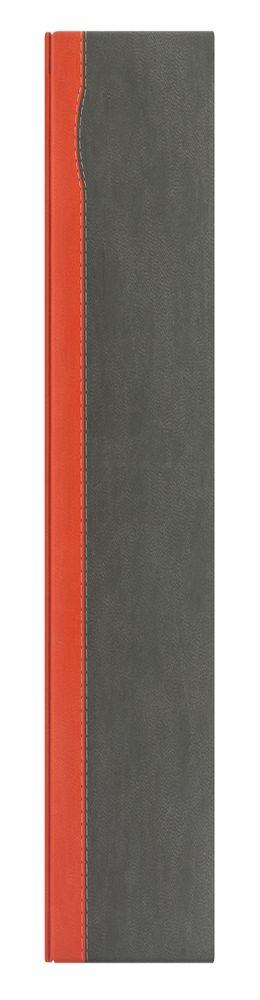 Недатированный ежедневник REPORT 5451 (650U) 145x205 мм серый/оранжевый, без лого фото