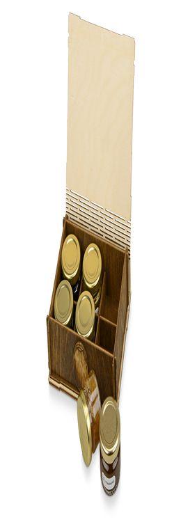 Подарочный набор «Sweetly» с мёдом и вареньем фото
