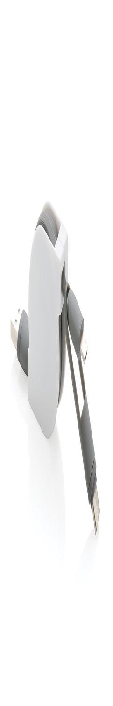 Кабель 3-в-1 с выдвижным механизмом, белый фото