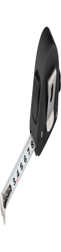 Рулетка строительная Alfa, черная фото