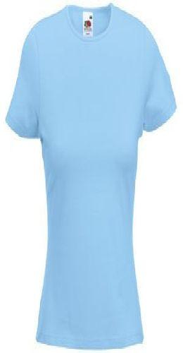 """Футболка """"Lady-Fit Crew Neck T"""", небесно-голубой фото"""