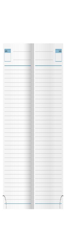 Ежедневник недатированный Vegas 145х205 мм, серый фото