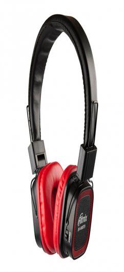Наушники беспроводные RITMIX RH-480BTH, красные фото