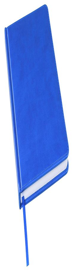 Ежедневник недатированный Bliss, А5,  синий ройал, белый блок, без обреза фото
