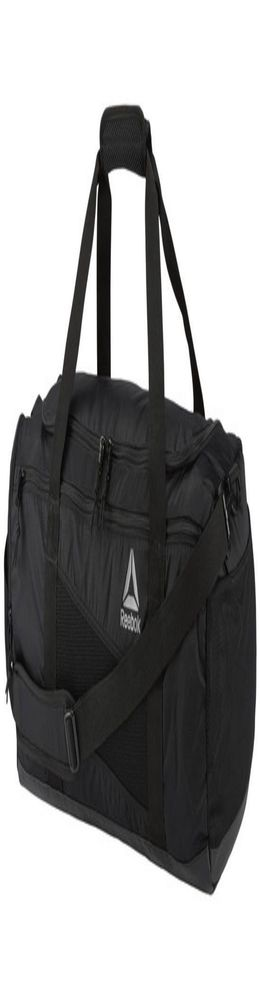 Сумка спортивная Duffle Bag, черная фото