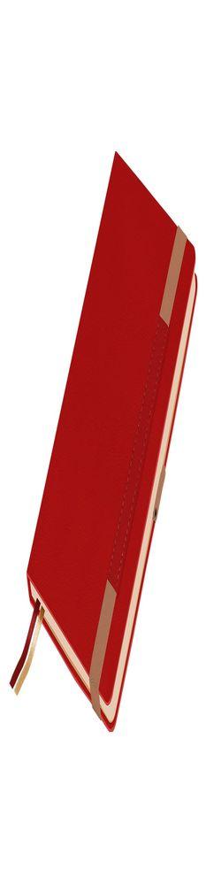 Ежедневник недатированный, Portobello Trend, Marseille, soft touch, 145х210, 256 стр, красный фото
