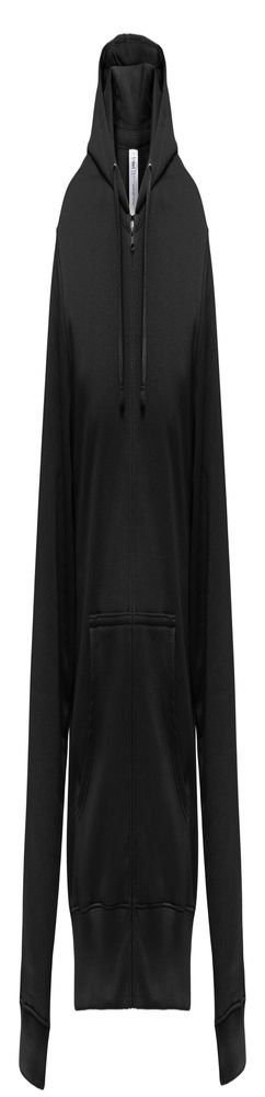 Толстовка мужская Hooded Full Zip черная фото