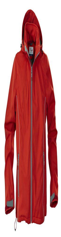 Куртка софтшелл мужская SKYRUNNING, красная фото