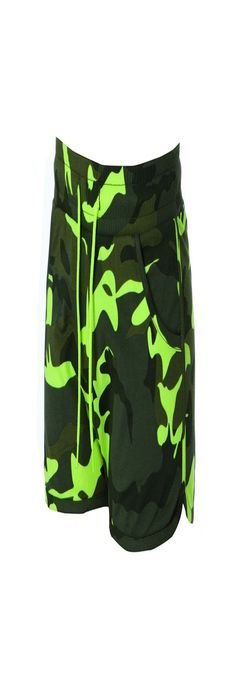 CRETA LADY Жен. шорты камуфляж флуоресцентный фото
