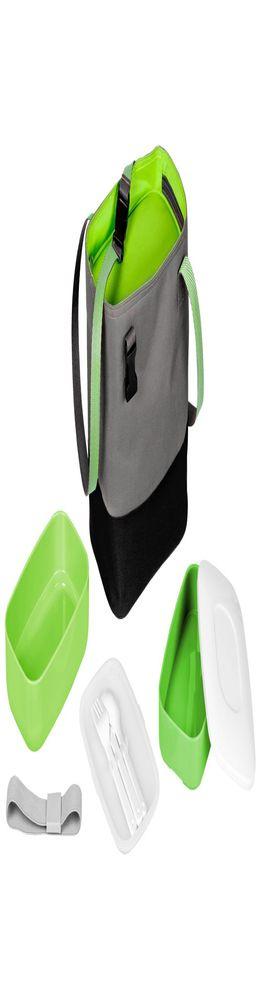 Набор ланчбоксов в термосумке Takk Mamma, зеленый фото