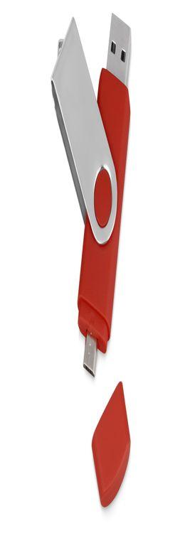 USB/micro USB-флешка на 16 Гб «Квебек OTG» фото