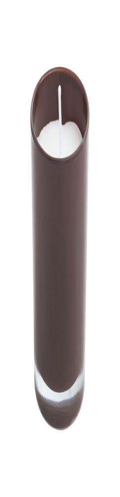 Свеча Glimmy, коричневая фото