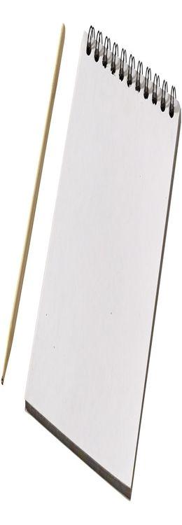 Цветной набор «Scratch»: блокнот, деревянная ручка фото