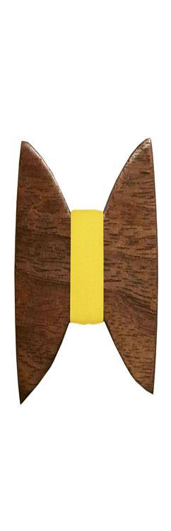 Галстук-бабочка «Classic», орех фото
