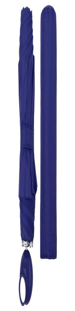 Зонт складной Floyd с кольцом, синий фото