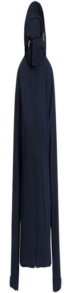 Куртка женская Hooded Softshell темно-синяя фото