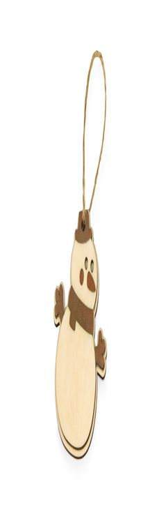 Подвеска «Снеговик» фото
