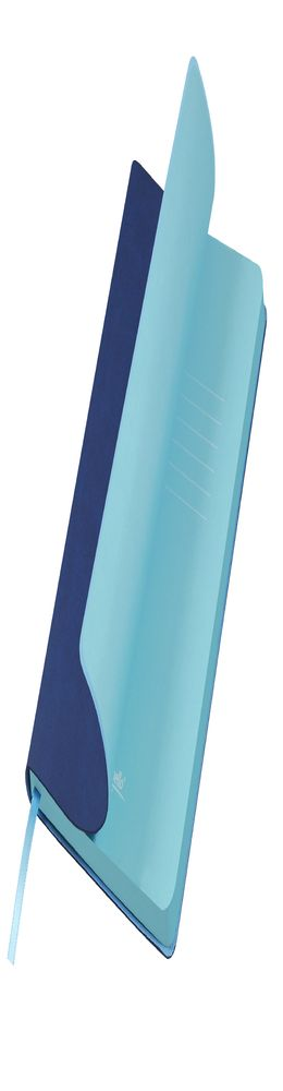 Ежедневник недатированный, Portobello Trend, Latte A5, синий/голубой фото