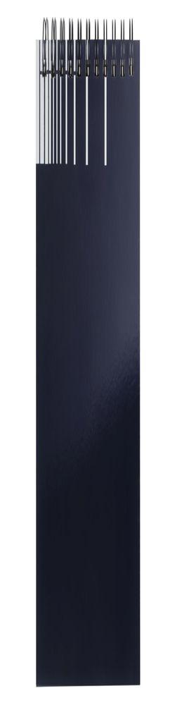 Непромокаемый блокнот Gus, синий фото