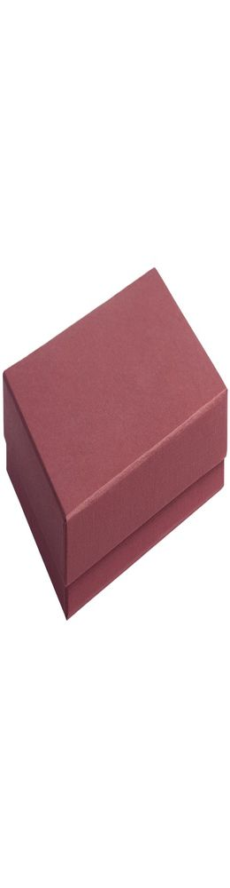 Коробка под ежедневник, бордовая фото