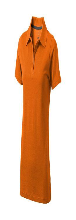 """Рубашка-поло """"Seller"""" женская, оранжевый фото"""