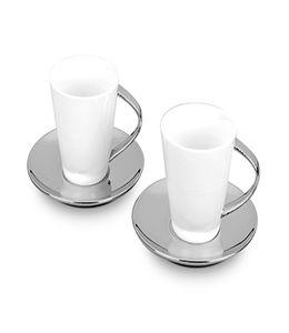 Набор: 2 чашки на 250 мл с блюдцами фото