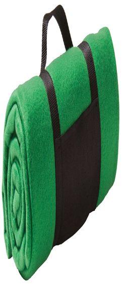 Дорожный плед Soft, зеленый фото