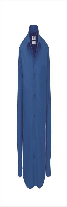 Рубашка мужская с длинным рукавом Heritage LSL, синяя фото