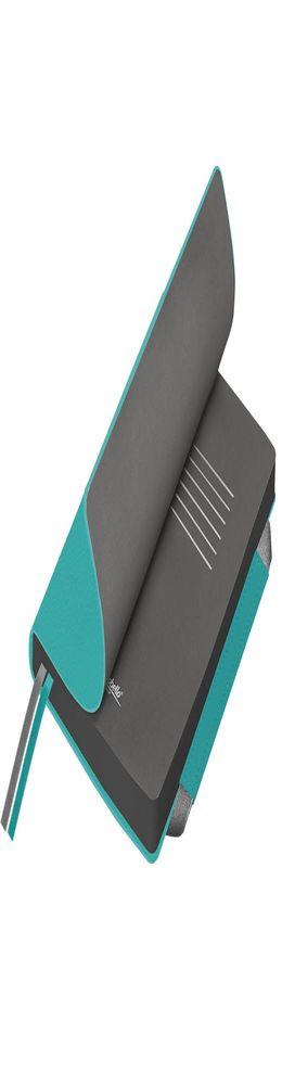 Ежедневник недатированный, Portobello Trend, Marseille soft touch, 145х210, 256 стр, аква, гибкая обложка фото
