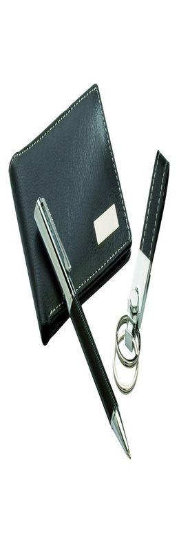 Набор портмоне, авторучка и брелок фото