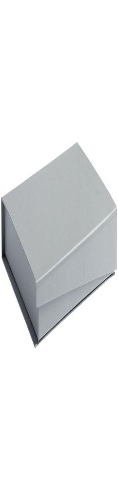 Коробка Duo под ежедневник и ручку, серебро фото